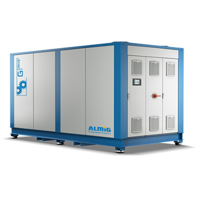 Two-stage screw compressor G-Drive T